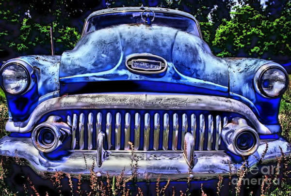 Rockdale County Photograph - 50s Buick Eight by Corky Willis Atlanta Photography