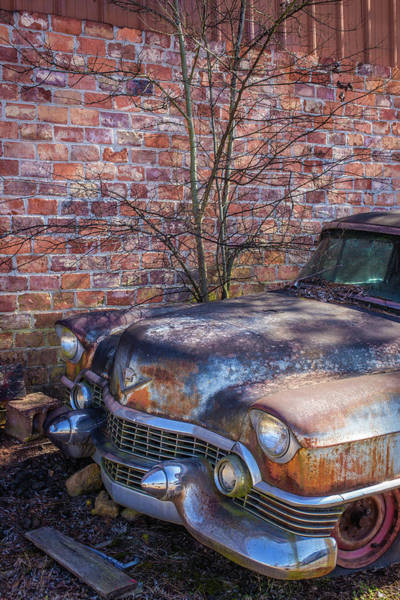 Photograph - 50s Cadillac by Matthew Pace