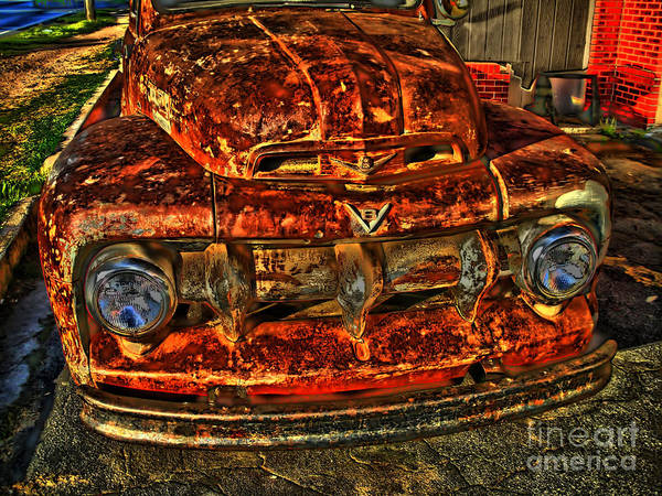 Rockdale County Photograph - 50s Ford Truck by Corky Willis Atlanta Photography