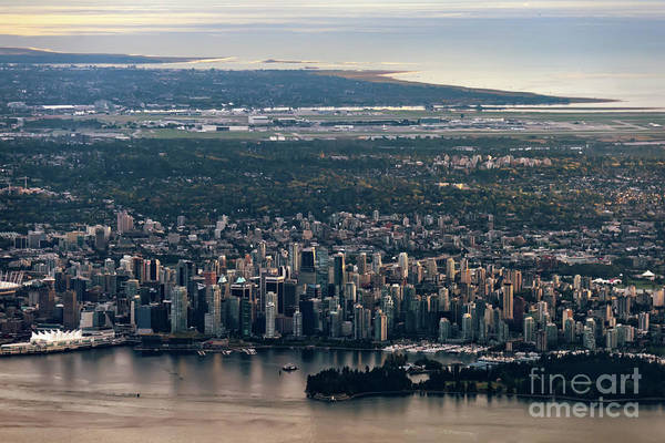 Canada Wall Art - Photograph - View Of Vancouver From Above by Viktor Birkus