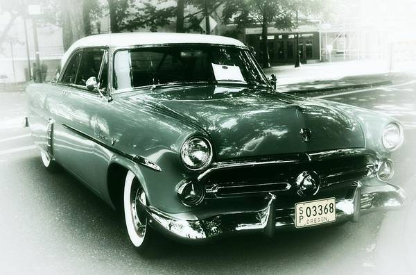 Pdx Photograph - '52 Ford Victoria Hard Top by Cathie Tyler
