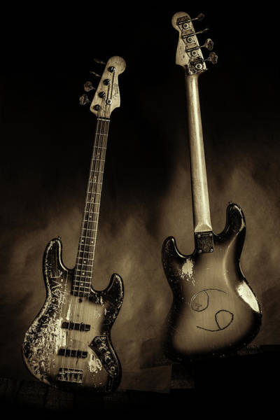Photograph - 52.1834 011.1834c Jazz Bass 1969 Old 69 by M K Miller