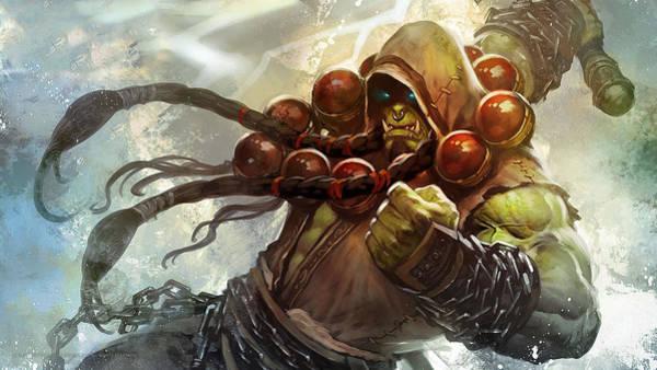 World Of Warcraft Wall Art - Digital Art - 54215 World Of Warcraft by Mery Moon