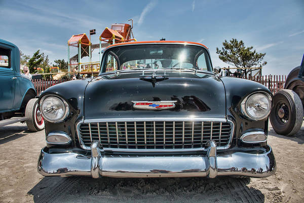 Photograph - 55 Chevy At The Race Of Gentlemen by Kristia Adams