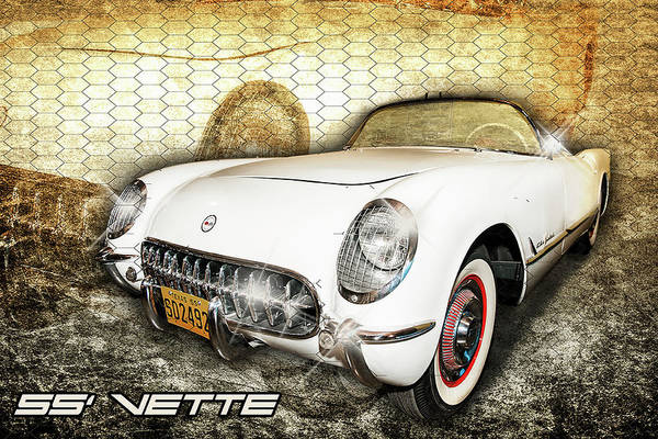 Photograph - 55' Vette by Scott Cordell