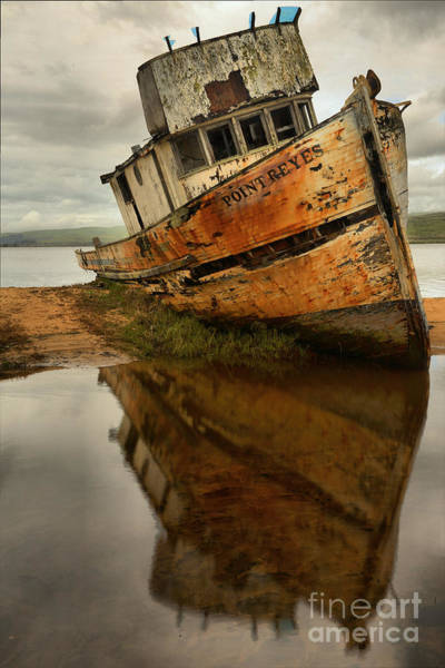 Photograph - Retired Fishing Boat by Adam Jewell