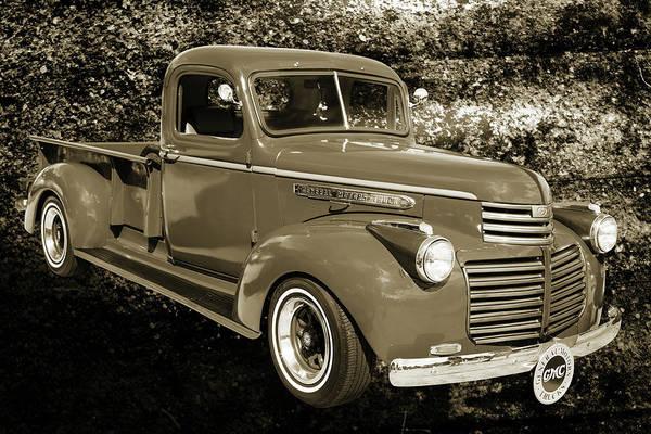 Photograph - 5514.02 1946 Gmc Pickup Truck by M K Miller