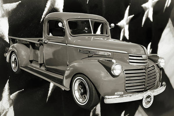 Photograph - 5514.03 1946 Gmc Pickup Truck by M K Miller