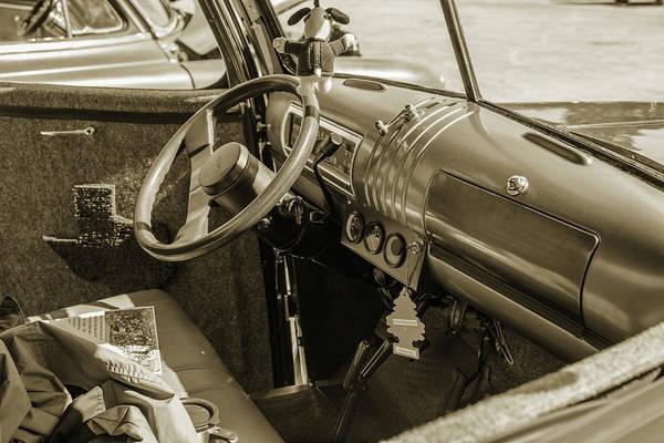 Photograph - 5514.07 1946 Gmc Pickup Truck by M K Miller