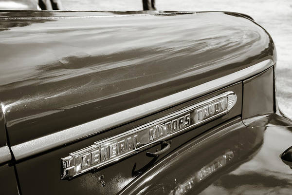 Photograph - 5514.08 1946 Gmc Pickup Truck by M K Miller