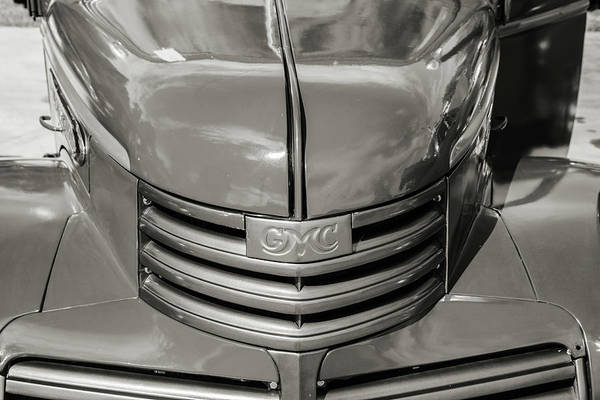 Photograph - 5514.10 1946 Gmc Pickup Truck by M K Miller
