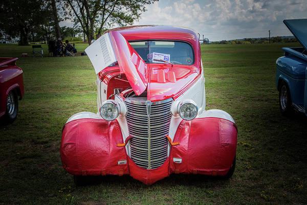 Photograph - 5515.08 1938 Chevrolet Sedan by M K Miller