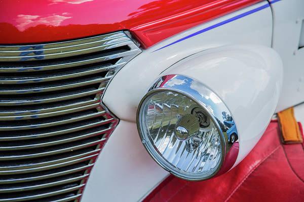 Photograph - 5515.10 1938 Chevrolet Sedan by M K Miller