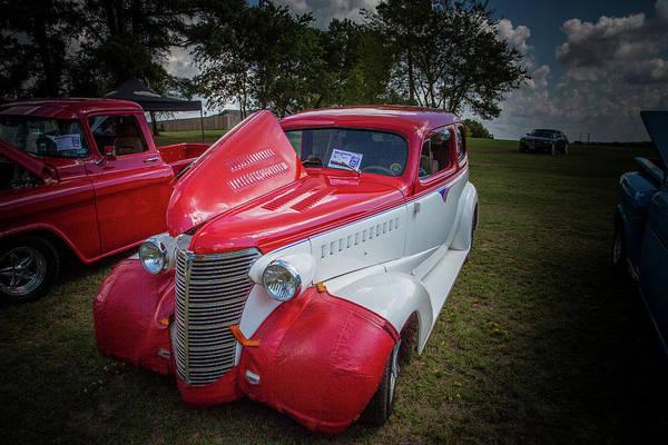 Photograph - 5515.13 1938 Chevrolet Sedan by M K Miller
