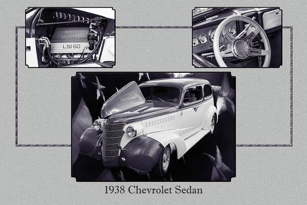 Photograph - 5515.50 1938 Chevrolet Sedan by M K Miller
