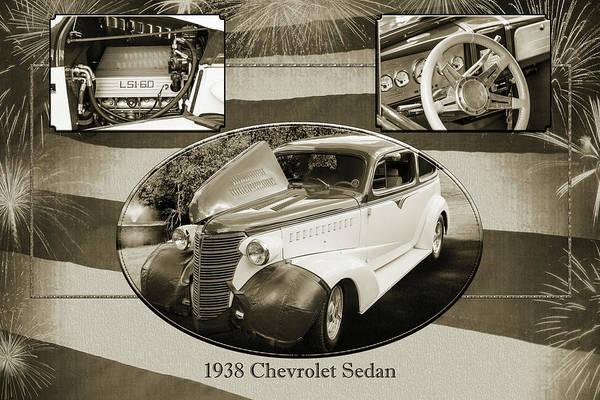 Photograph - 5515.51 1938 Chevrolet Sedan by M K Miller