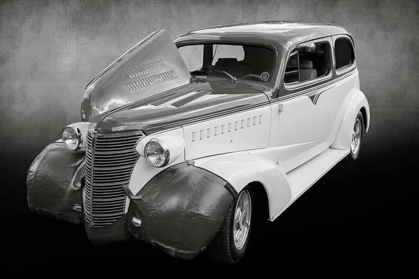 Photograph - 5515.55 1938 Chevrolet Sedan by M K Miller
