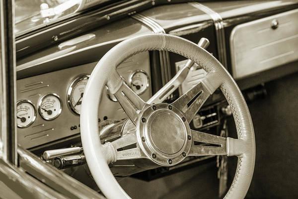 Photograph - 5515.60 1938 Chevrolet Sedan by M K Miller