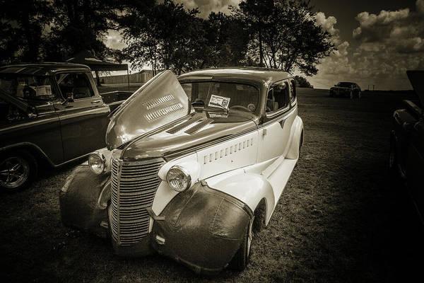 Photograph - 5515.62 1938 Chevrolet Sedan by M K Miller