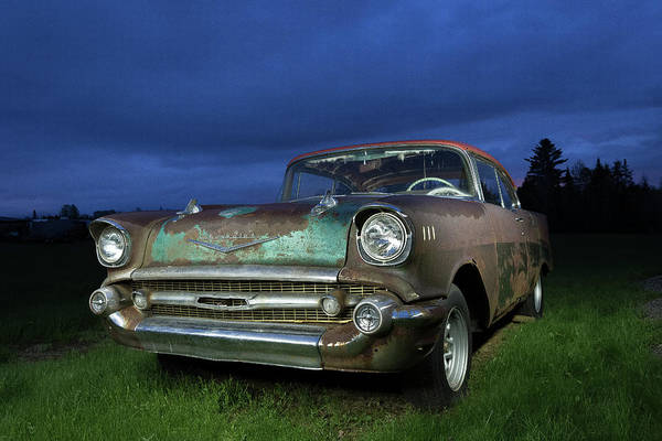 57' Chevrolet Art Print