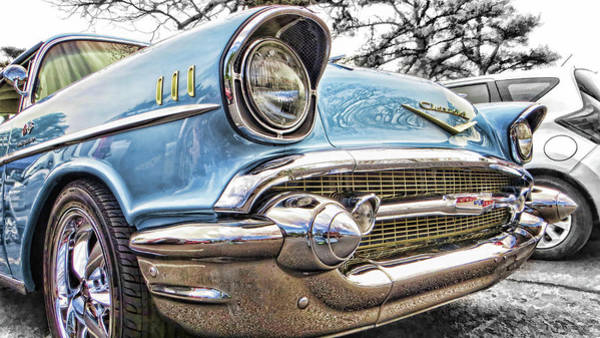Photograph - '57 Chevy Bel Air by Daniel Adams