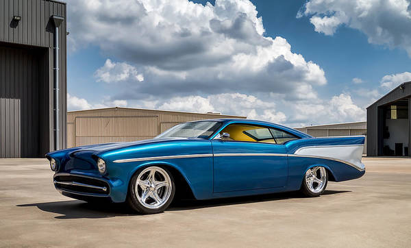 Chevrolet Digital Art - '57 Chevy Custom by Douglas Pittman