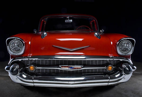 Photograph - 57 Chevy by Rick Hartigan