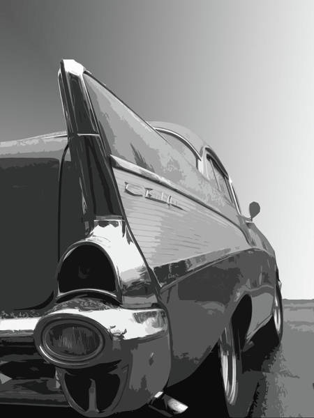 Dick Goodman Wall Art - Photograph - 57 Chevy Verticle by Dick Goodman