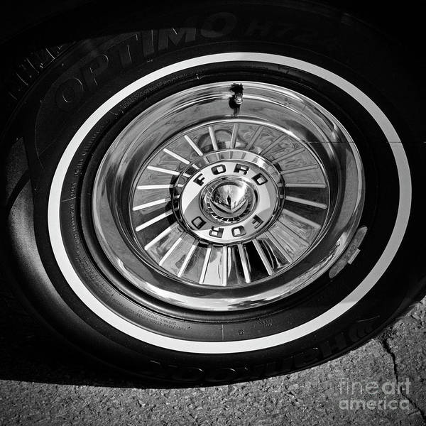 Photograph - 57 Ford Hub Cap by Patrick M Lynch