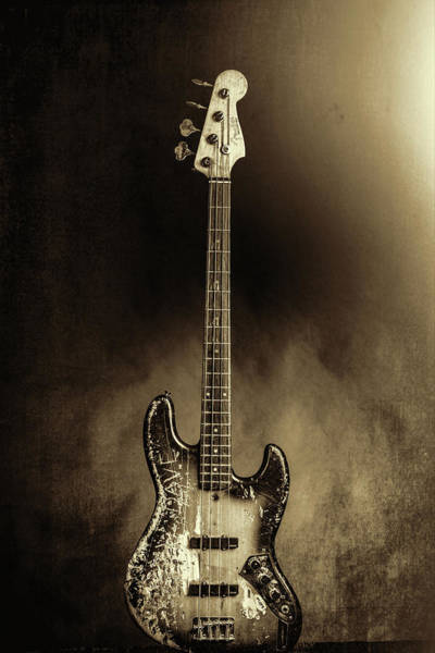 Photograph - 58.1834 011.1834c Jazz Bass 1969 Old 69 by M K Miller