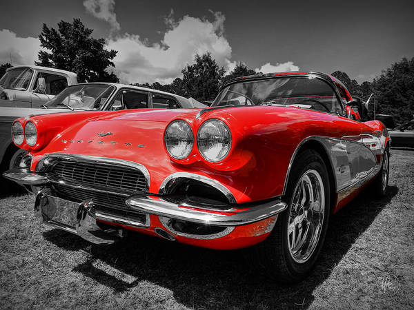 Photograph - '59 Corvette 001 by Lance Vaughn