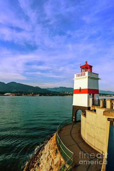 Canada Wall Art - Photograph - Brockton Point Lighthouse 2 by Viktor Birkus