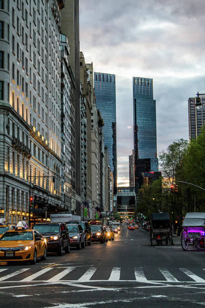 Photograph - 59th And 5th by Robert J Caputo