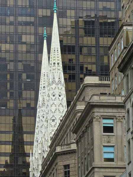 Photograph - 5th Avenue Spires by Steven Lapkin