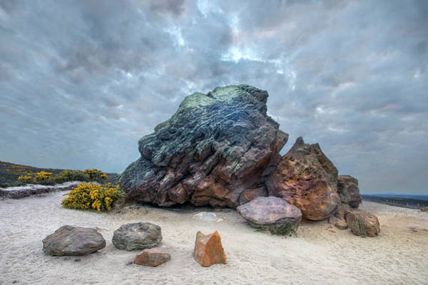 Heath Photograph - Agglestone Rock - England by Joana Kruse