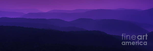 Highland Scenic Highway Wall Art - Photograph - Allegheny Mountain Dawn by Thomas R Fletcher