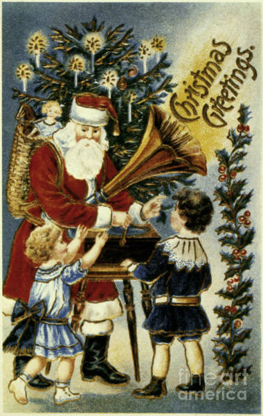 Flk Photograph - American Christmas Card by Granger