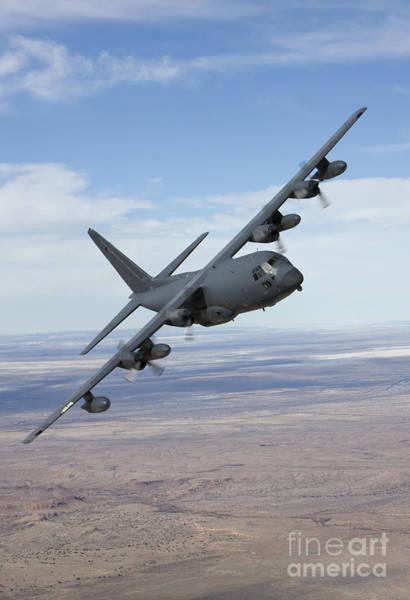 Talon Photograph - An Mc-130 Aircraft Manuevers by HIGH-G Productions