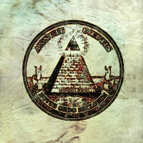 Serpent Digital Art - Ancient Freemasonic Symbolism By Pierre Blanchard by Pierre Blanchard