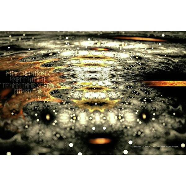 Photograph - #art  #abstract  #digitalart  #fractals by Michal Dunaj