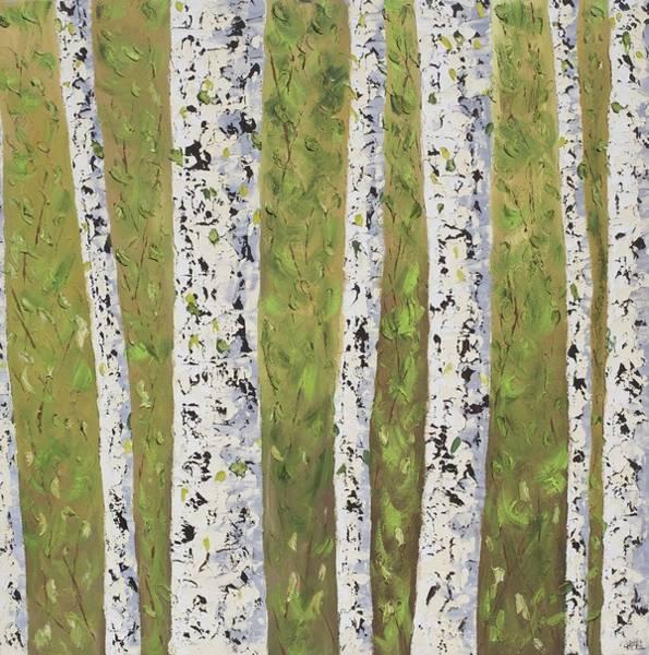 Aspen Trees Colorado Art Print by Frederic Payet
