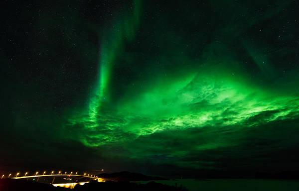 Fantasy Digital Art - Aurora Borealis by Super Lovely