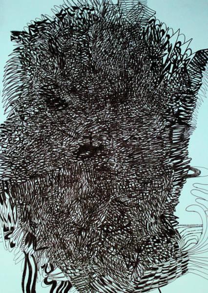 Painting -  Beast by Gloria Ssali