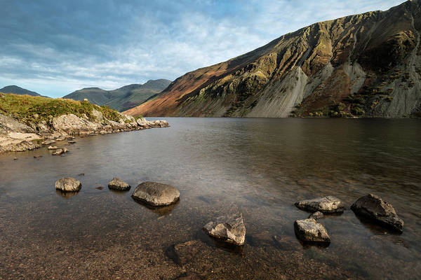 Wast Wall Art - Photograph - Beautiful Landscape Image Of Mountains Around Wast Water In Lake by Matthew Gibson