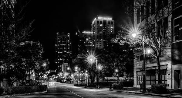 Photograph - Birmingham Alabama Evening Skyline by Alex Grichenko