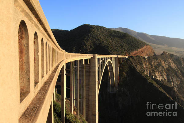 Photograph - Bixby Creek Bridge Big Sur Photo By Pat Hathaway In 2011 by California Views Archives Mr Pat Hathaway Archives