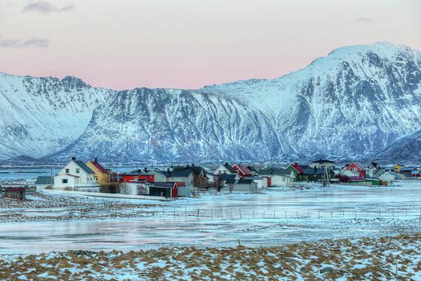 Berge Wall Art - Photograph - Bostad, Lofoten - Norway by Joana Kruse