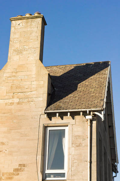 Gutter Photograph - Chimney by Tom Gowanlock