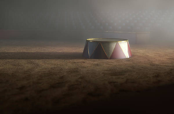 Cupola Digital Art - Circus Ring And Podium  by Allan Swart