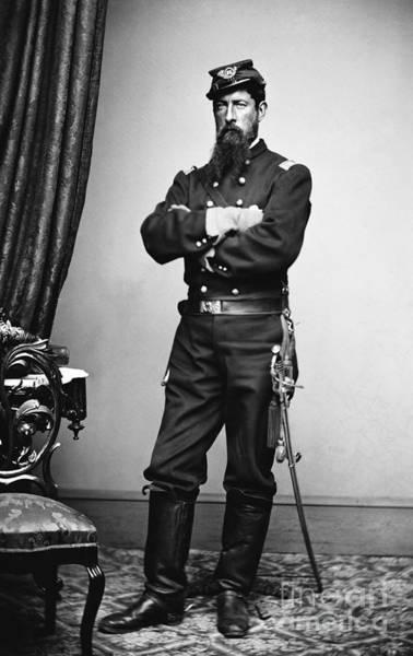 1862 Photograph - Civil War: Union Soldier by Granger